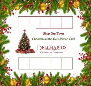 Picture of Holiday Punch Card