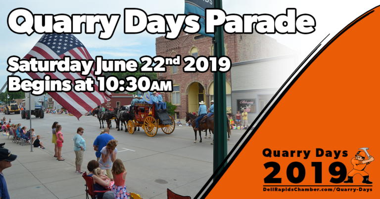 quarry days parade quarry days 2019 dell rapids south Dakota dell rapids chamber of commerce