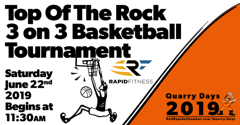 top of the rock 3 on 3 basketball tournament quarry days 2019