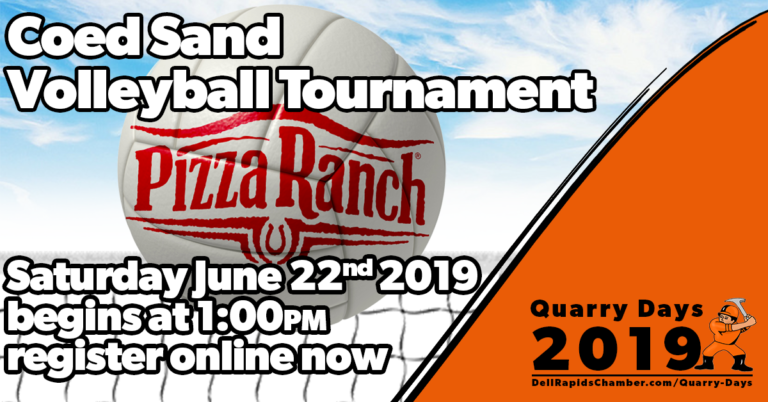 volleyball tournament quarry days 2019 dell rapids south Dakota dell rapids chamber of commerce