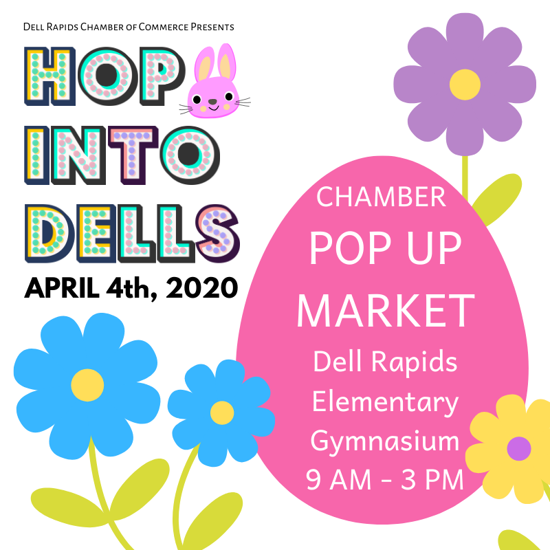 Hop Into Dells Chamber Pop Up Market