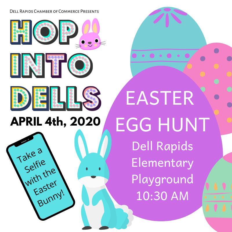 Hop Into Dells Easter Egg Hunt